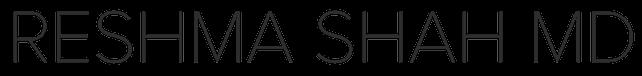 Reshma Shah MD Logo